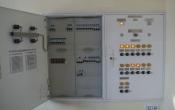Щит АВР-50А з розподільчою частиною та пульт управління вентиляцією 1