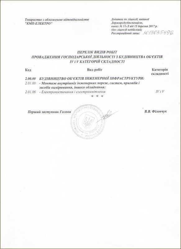 KMP-Electro License 2