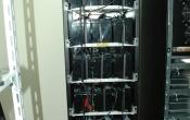 Батарейный шкаф собран и скомутирован